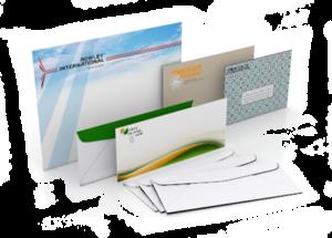конверты с логотипом, печать на конвертах