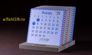 эко календарь на подствке